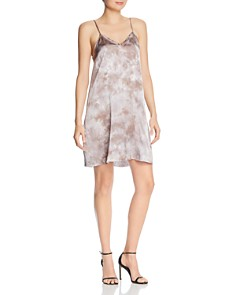 ATM Anthony Thomas Melillo - Tie-Dyed Silk Slip Dress