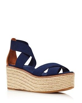 Tory Burch - Women's Frieda Platform Espadrille Sandals