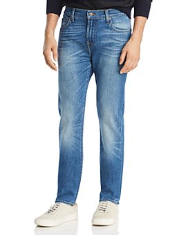 7 For All Mankind - Series 7 Adrien Tapered Fit Jeans in Aficionado