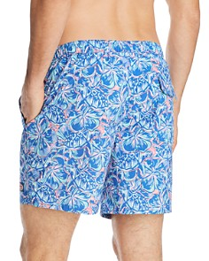 Vineyard Vines - Chappy Tropical Turtle & Floral-Print Swim Trunks