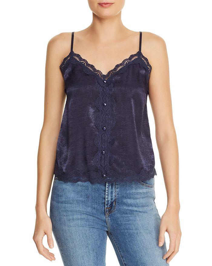 AQUA - Lace-Trim Camisole - 100% Exclusive