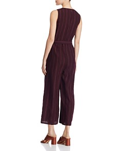 Eileen Fisher Petites - Striped Organic Linen Jumpsuit - 100% Exclusive