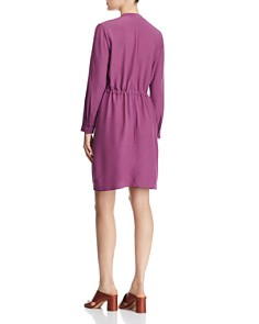Eileen Fisher Petites - Drawstring Shirt Dress