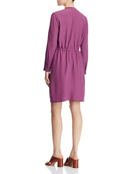 Eileen Fisher Petites - Drawstring Shirt Dress