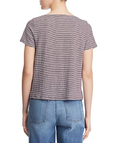 Eileen Fisher - Square Neck Cropped Tee