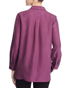 Eileen Fisher - Classic Solid Silk Shirt