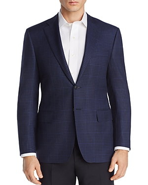 Canali Check with Tonal Windowpane Siena Regular Fit Sport Coat