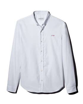 Maison Labiche - x Darcy Miller Men's Stud Regular Fit Button-Down Shirt - 100% Exclusive