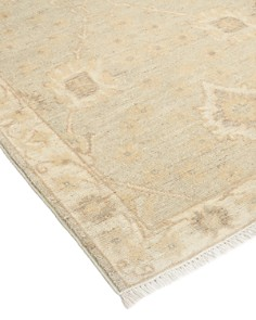 "Solo Rugs - Oushak Collection Menkaure Runner Rug, 2'7"" x 9'5"""