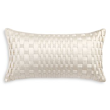 "Hudson Park Collection - Luxe Basic Decorative Pillow, 12"" x 22"" - 100% Exclusive"
