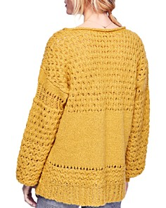 Free People - Crashing Waves V-Neck Sweater