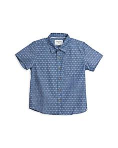 Sovereign Code - Boys' Antz Micro-Pattern Camp Shirt - Little Kid, Big Kid