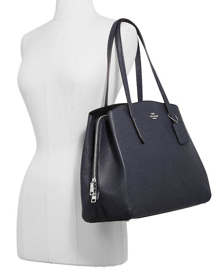 ca0ec57fc0 COACH Charlie 40 Leather Carryall | Bloomingdale's