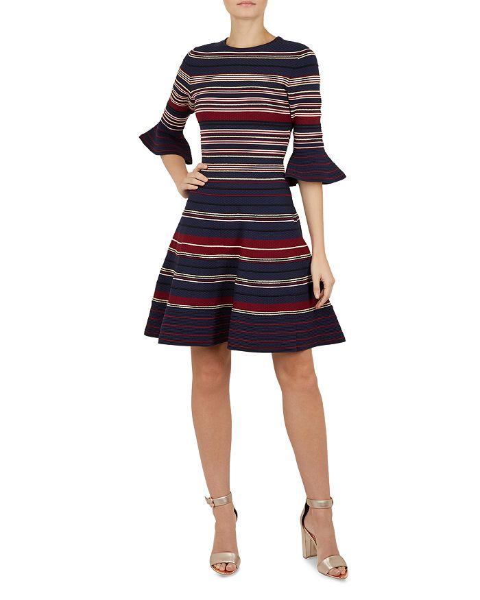 8271fa24c5c0 Ted Baker - Tayiny Striped Skater Dress