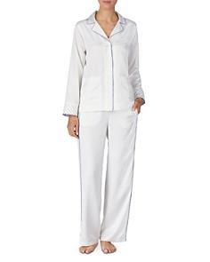 Ralph Lauren - Long Polka Dot Pajama Set