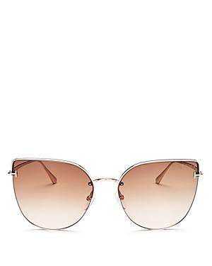 Tom Ford Women's Cat Eye Sunglasses, 60 mm