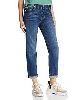 7 For All Mankind - Josefina Boyfriend Jeans in Broken Twill Vanity