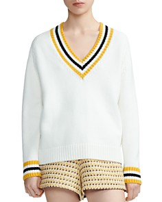 Maje - Meteo Banded Stripe Sweater