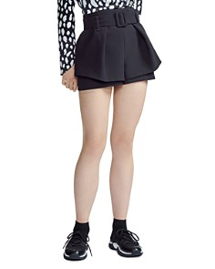 Maje - Ikaren High-Waist Shorts