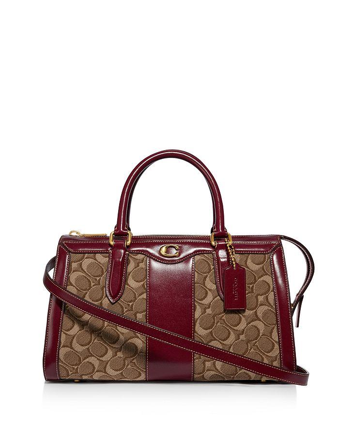 3aeaa62766f8 COACH Bond Bag in Signature Jacquard | Bloomingdale's