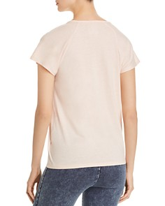 Marc New York - Heathered Twist-Shoulder Tee