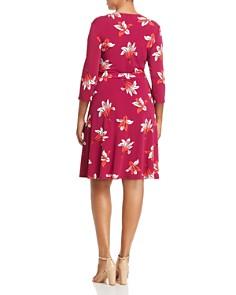 Leota Plus - Lily Print Faux-Wrap Dress