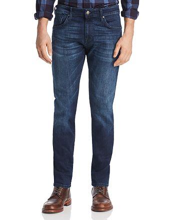 Mavi - Jake Slim Fit Jeans in Dark Tonal Williamsburg