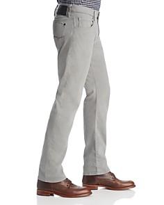 Mavi - Zach Straight Fit Pants in Gray Twill