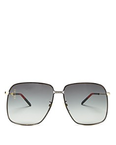 Gucci - Women's Oversized Square Sunglasses, 62mm