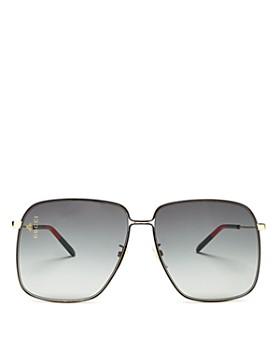 Gucci - Women's Oversized Square Sunglasses, 62mm