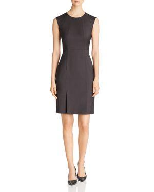Boss Delilia Mini Check Sheath Dress