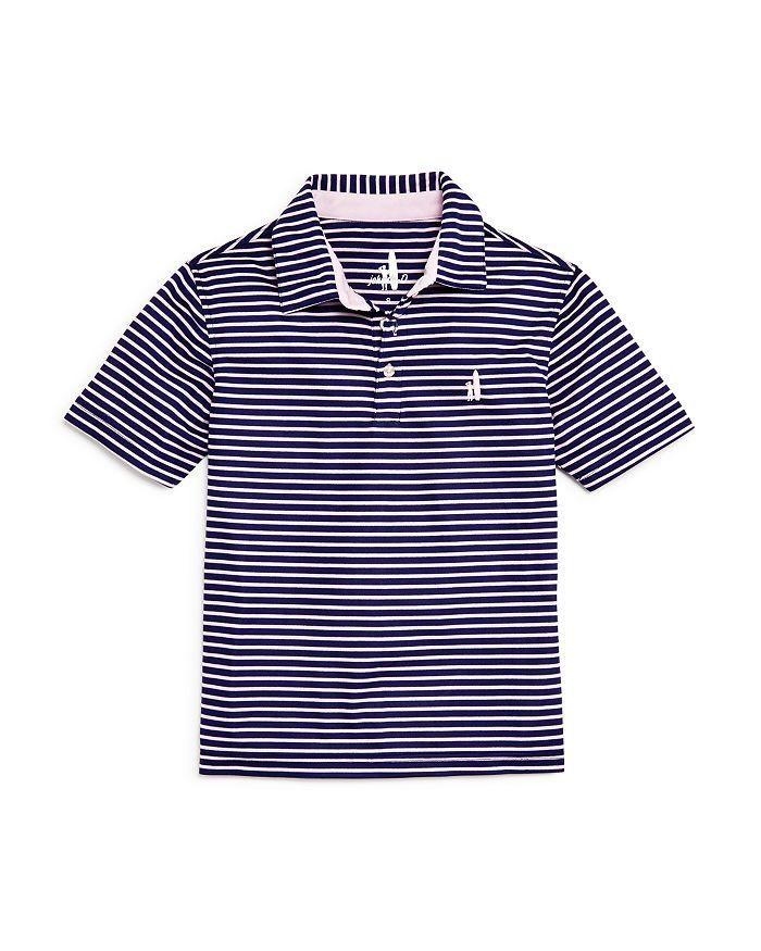 16369766 Johnnie-O Boys' Linus Striped Polo Shirt - Little Kid, Big Kid ...