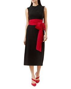 HOBBS LONDON - Thao Belted Dress