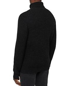 ALLSAINTS - Mast Waffle-Knit Turtleneck Sweater