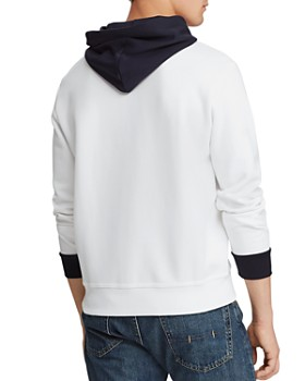Polo Ralph Lauren - Double-Knit Logo Graphic Hooded Sweatshirt