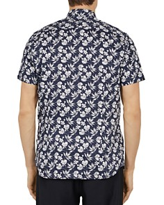 Ted Baker - Kolar Statement-Print Slim Fit Shirt