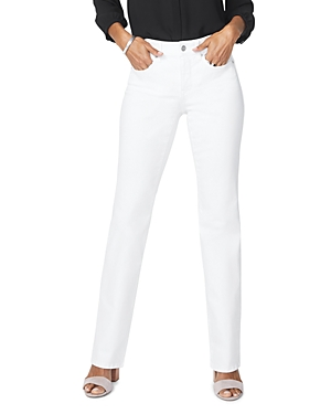 Nydj Jeans BARBARA BOOTCUT JEANS IN OPTIC WHITE