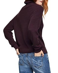 BCBGeneration - Fringed Turtleneck Sweater