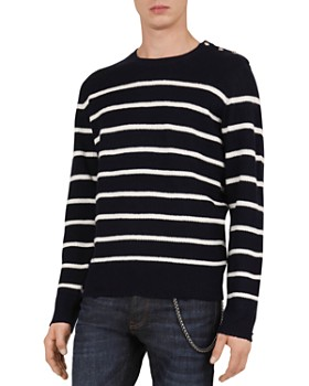 The Kooples - Mix Striped Wool   Cashmere Sweater ... ae2c2a0a7e58