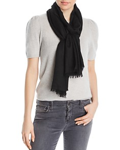 Fraas - Frayed-Edge Lightweight Cashmere Scarf