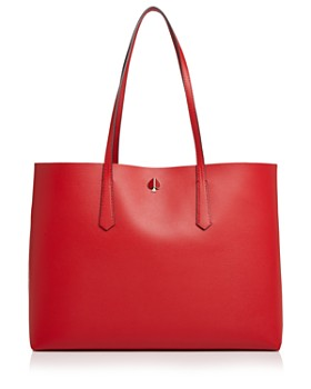 kate spade new york - Large Leather Tote Bag