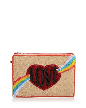 From St Xavier - Beaded Lust Clutch