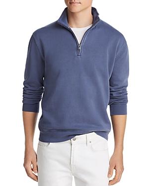 The Men's Store at Bloomingdale's Half-Zip French Terry Sweatshirt - 100% Exclusive