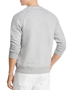 The Men's Store at Bloomingdale's - Striped French Terry Raglan Sweatshirt - 100% Exclusive