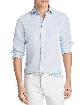 The Men's Store at Bloomingdale's - Micro-Gingham Regular Fit Shirt - 100% Exclusive