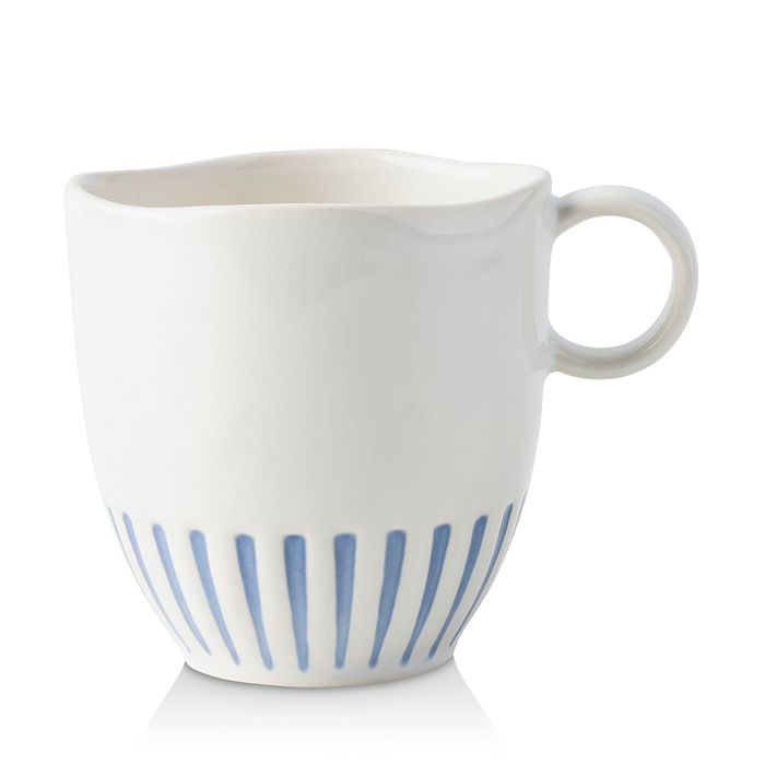 Juliska - Sitio Stripe Indigo Mug