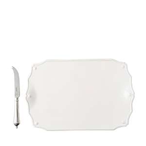 Juliska Berry & Thread 15 Serving Board with Knife-Home