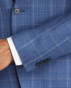 BOSS - Jewels Windowpane Regular Fit Sport Coat