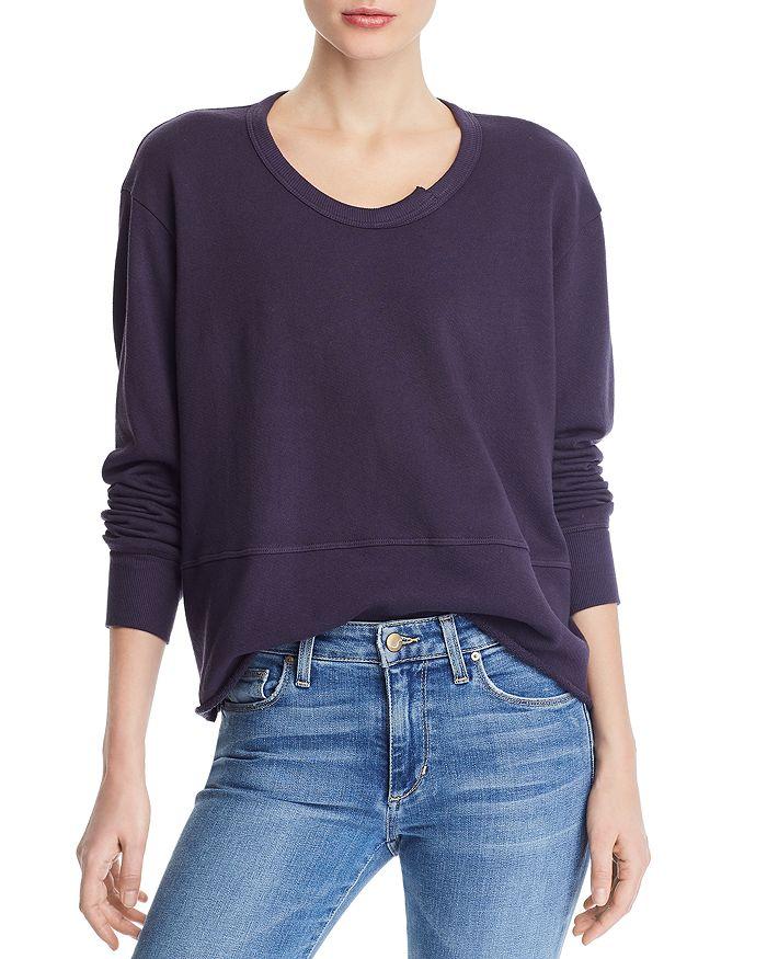 Wilt - Raw-Edge Boxy Sweatshirt