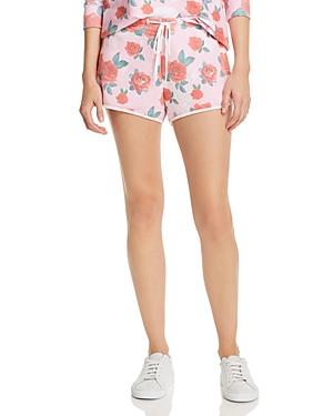 Wildfox ELECTRIC LOVE ROSE PRINT SHORTS